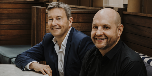 Talent founder Richard Earl and Talent Global CEO Mark Nielsen