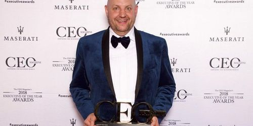 Talent Global CEO Mark Nielsen named CEO of the Year